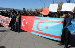 Gaziantep'te Bayırbucak Protestosu
