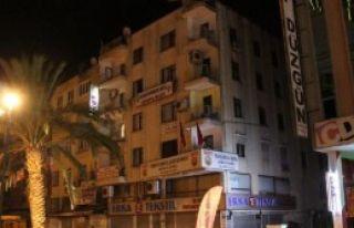 HDP İl Başkanlığında Yangın