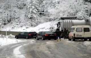 Ilgaz Dağı'nda Kar Ulaşımı Aksattı