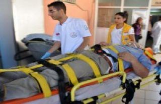 İnşaatın 3'üncü Katından Düşen İşçi Yaralandı