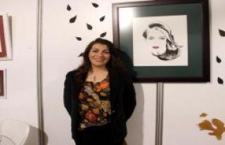 İzmirli Ressamın 'yaprak' Sanatı