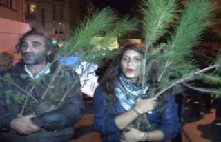 Kadıköy'de Odtü Protestosu