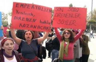 Kadınların Kobani Yürüyüşüne Polis Engeli