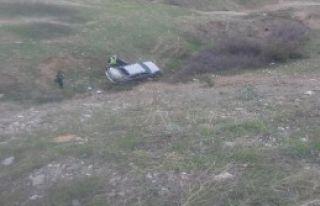 Kahta'da Otomobil Devrildi: 7 Yaralı