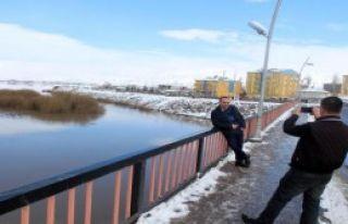 Kar Yağışı, Kura Nehri'ni Taşırdı