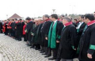 Kastamonu Adliyesi'nde, Şehit Savcı İçin Tören