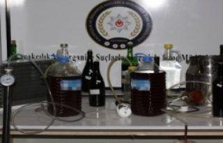 Kastamonu'da Kaçak İçki Operasyonu