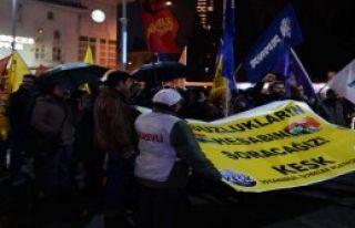 KESK'ten Şişli'de 17 Aralık Eylemi...