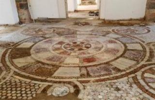 Mozaikler Ziyarete Açılacak