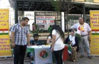 Kürdistan Referanduma, İmza Kampanyalı Destek