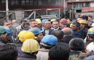 Amasya'da Madencilerin Grevi Sona Erdi