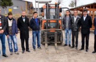 Mahkumlara Forklift Operatörlüğü Eğitimi