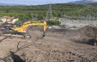 Menderes'te Ağaçlandırma Hazırlığı