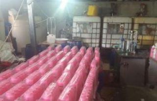 9 Ton Sahte Şampuan Ele Geçirildi