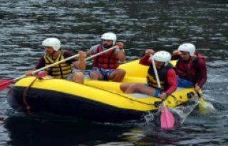 Patlıcan Festivali'nde Rafting