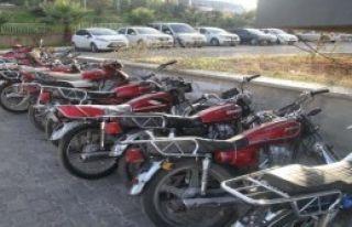 1 Ayda Çalıntı 95 Motosiklet Bulundu