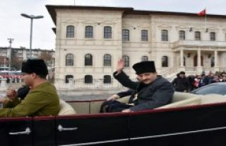 Temsili Atatürk'e Uğurlama Töreni