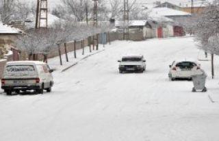 Sorgun'da Yoğun Kar Yağışı