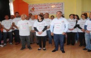 Süryaniler'den 100 Saatlik Açlık Eylemi