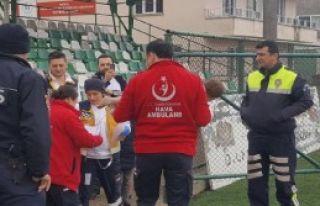 Süt Kazanına Düşen Bebek Helikopterle Götürüldü