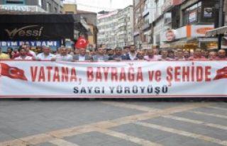 Trabzon'da Büyük Yürüyüş