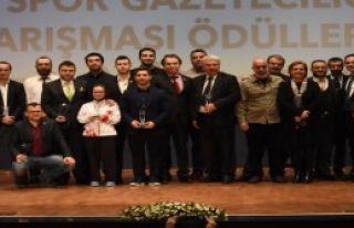 TSYD'de Yılın Spor Ödülleri Düzenlendi