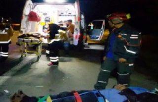Aksaray'da Kaza: 20 Yaralı