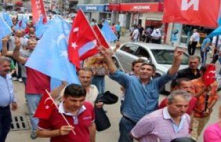 Zonguldak'ta Çin Tepkisi