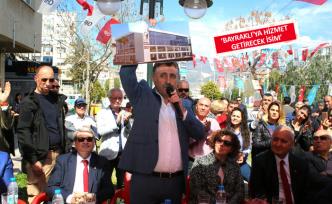 CHP'li Sandal, yeni özkanlar pazarının yerini açıkladı