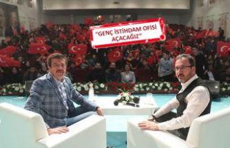 Bakan Kasapoğlu'ndan İzmir'de gençlere istihdam müjdesi