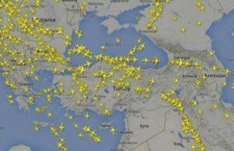 Bu uçağın rotası çok konuşulur