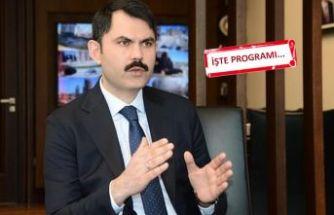 Çevre ve Şehircilik Bakanı Kurum İzmir'e geliyor