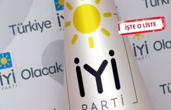 CHP destekli 'İYİ' listede kimler var?