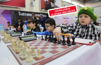 Gaziemir'de satranç heyecanı