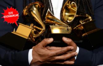 Grammy kazananları belli oldu