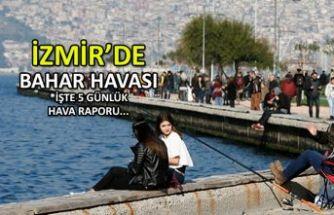 İzmir'de bahar havası