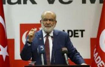 Karamollaoğlu: İktidardan Saadet'e oy kayacak