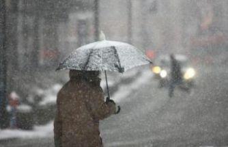 Karlı hafta sonu geldi…Meteoroloji'den uyarılar!