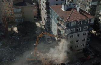Kartal'da ikinci yıkıma başlandı!