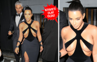 Kim Kardashian'ın dikkat çeken tecihi