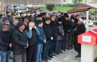 Kore gazisi, son yolculuğuna uğurlandı