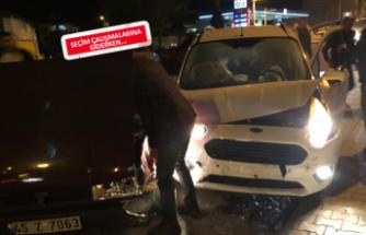 AK Parti'li Belediye Başkanı kaza yaptı
