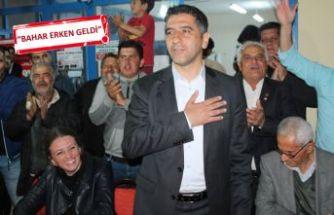 CHP'li Kayalar'a Menderes'te yoğun ilgi