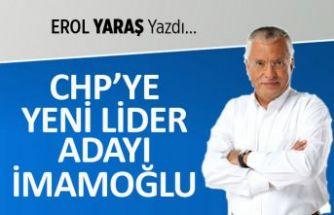 CHP'ye yeni lider adayı İmamoğlu
