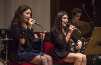 Festivalde Yaşar Üniversitesi Caz Ensemble gecesi