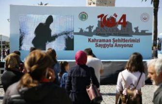 İzmir'de 'Çanakkale' ruhu yaşatıldı