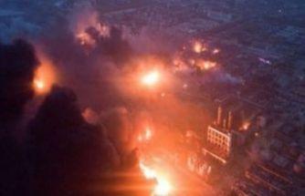 Kimya tesisinde patlama: 47 ölü, 640 yaralı
