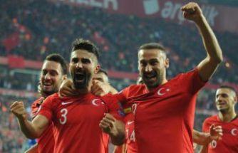Milliler şahlandı! Türkiye 4-0 Moldova