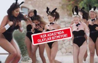 Kadın yarışmacıları Playboy tavşanı yaptılar!
