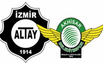 Altay ve Akhisarspor ilk hafta içeride